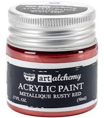 Art Alchemy Metallique Rusty Red