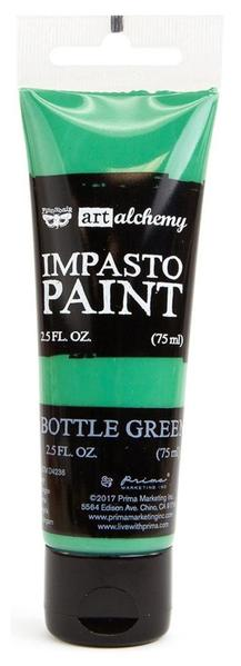 Finnabair Art Alchemy Impasto Bottle Green