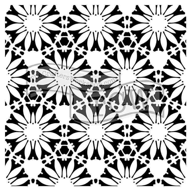 CW Tuscan Floral 6x6 Template