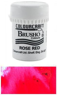 Brusho Rose Red