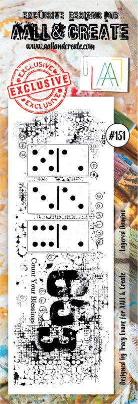 AALL & Create  A6 Stamp Set #151