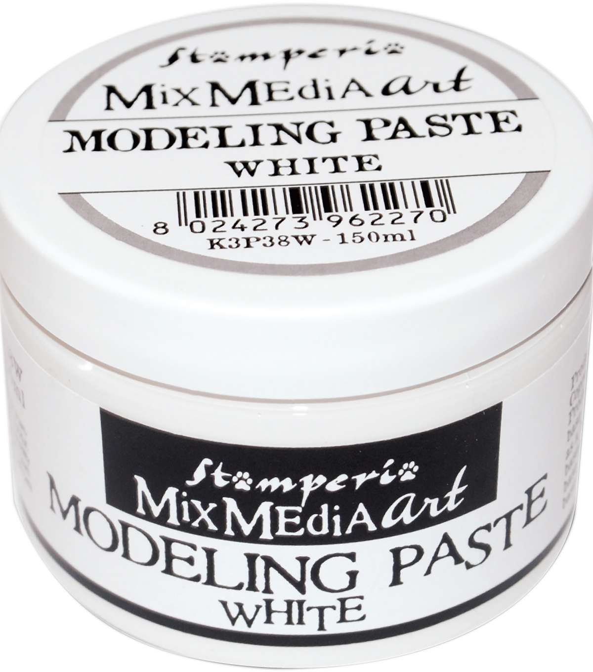 Stamperia Mix Media Art Modeling Paste White