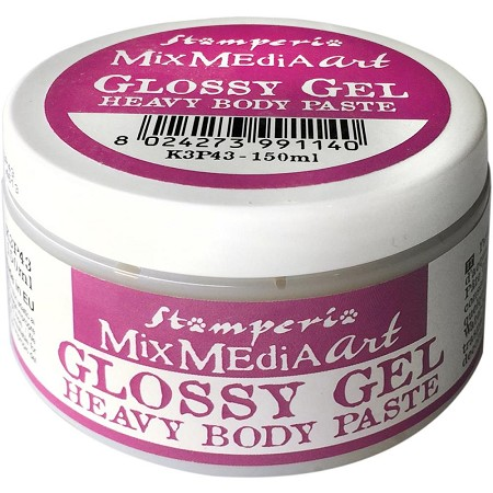 Stamperia Mix Media Art Glossy Gel Heavy Body Paste