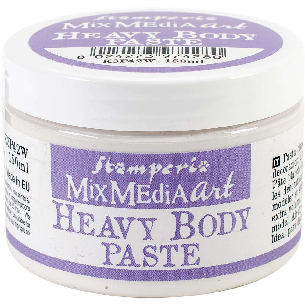 Stamperia Mix Media Art Heavy Body Paste