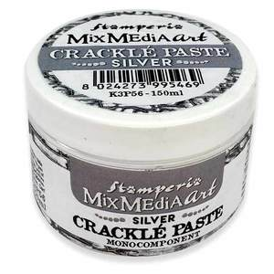 Stamperia Mix Media Art Crackle Paste Silver