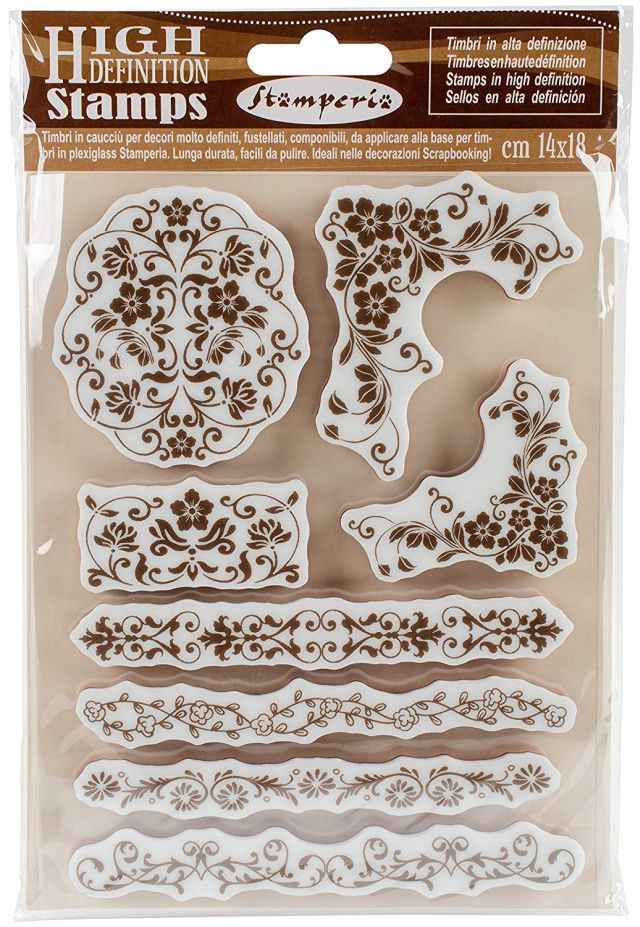 Stamperia Cling Stamp Bordures