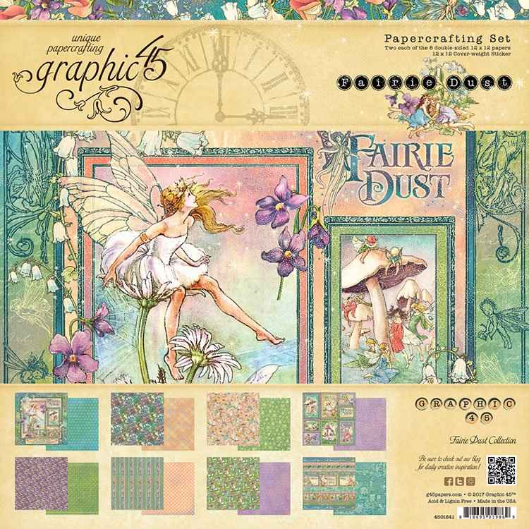 G45 Fairy Dust Papercrafting Set