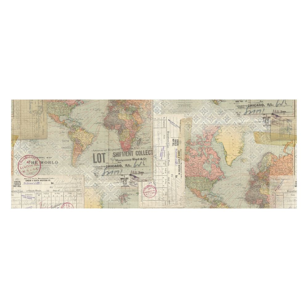 Tim Holtz Collage Paper Travel