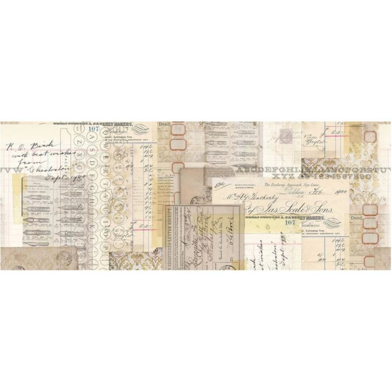 Tim Holtz Collage Paper Typography