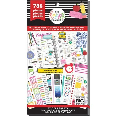 Mambi Sticker Value Pack Teachers Rule Classic (786)