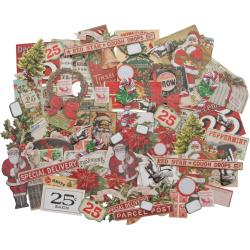 Tim Holtz Ephemera Pack Christmas Snippets Tiny Die-cuts 81 pieces