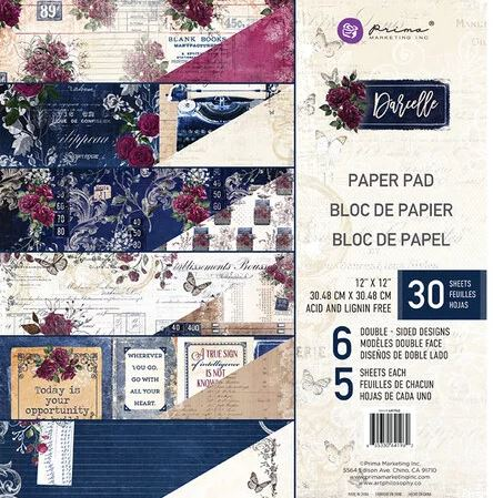 Prima Marketing paperpad Darcelle 12 inch