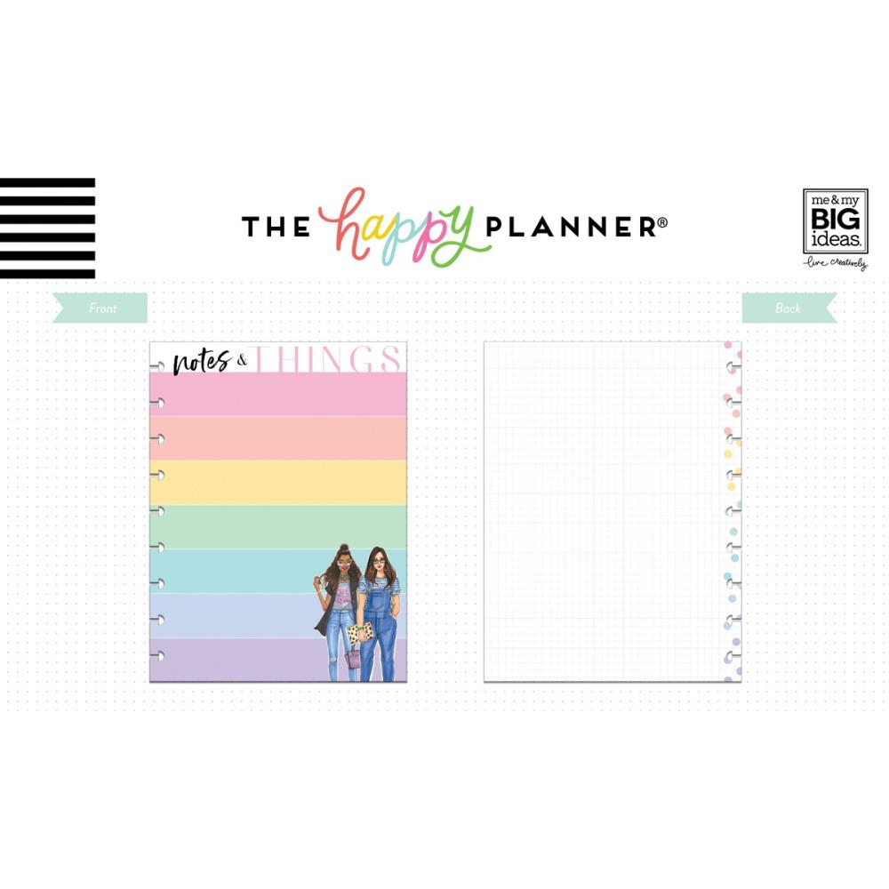 Mambi Medium Planner Fill Paper Rongrong Notes and Things