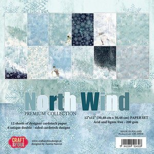 Craft&You Paperpad North Wind 12 inch