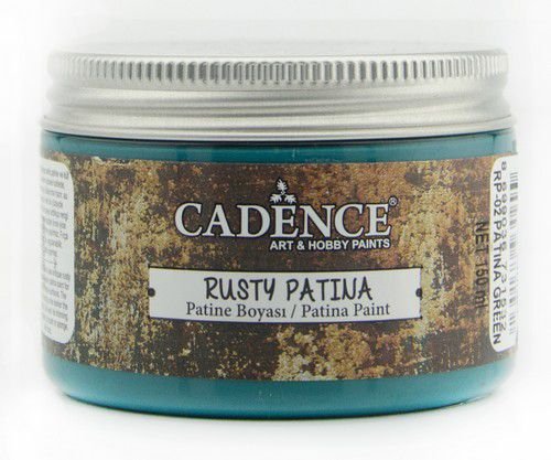 Cadence Rusty Patina Green