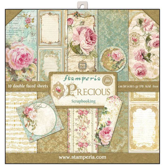 Stamperia Paperpad Precious 12 inch