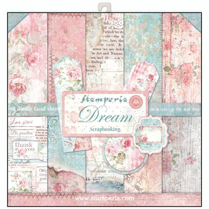 Stamperia Paperpad Dream 12 inch