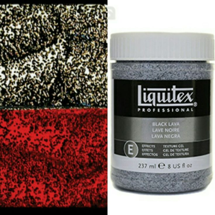 Liquitex Black Lava 8 oz