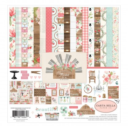 Carta Bella Farmhouse Market Collection Kit 12 inch