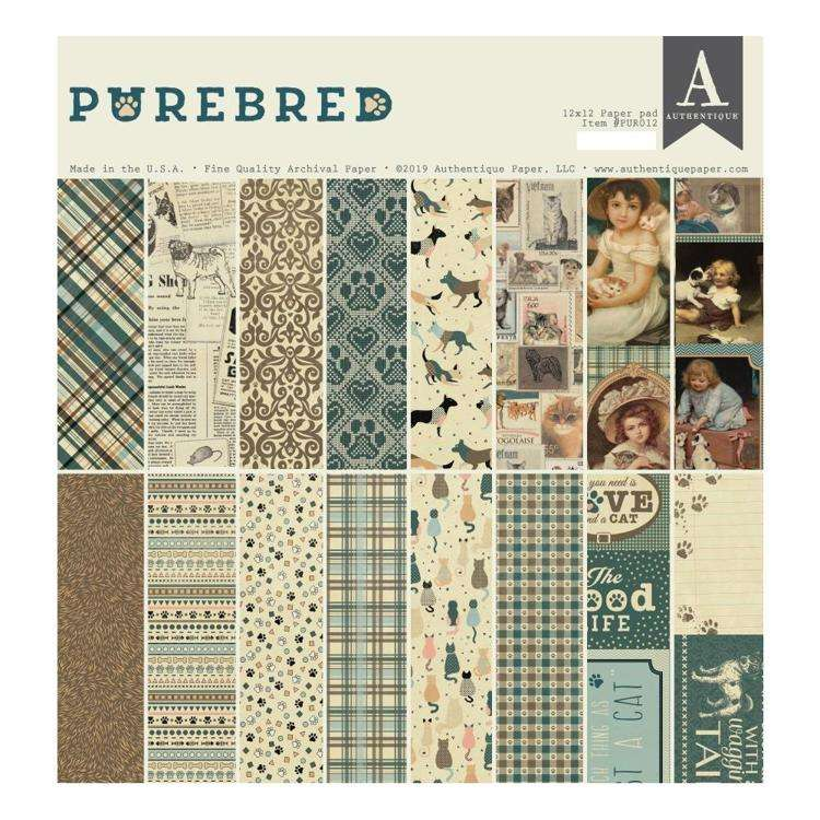 Authentique Purebred Collection Kit 12 inch.