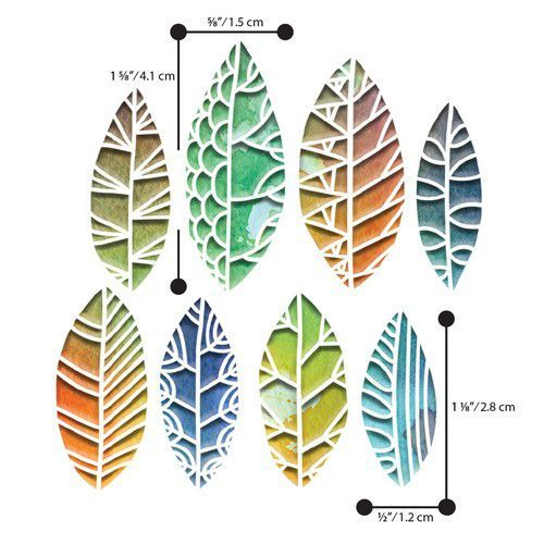 Sizzix Thinlits Cut Out Leaves