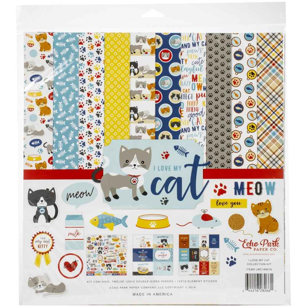 EP I love my Cat Papierpakket 12 inch