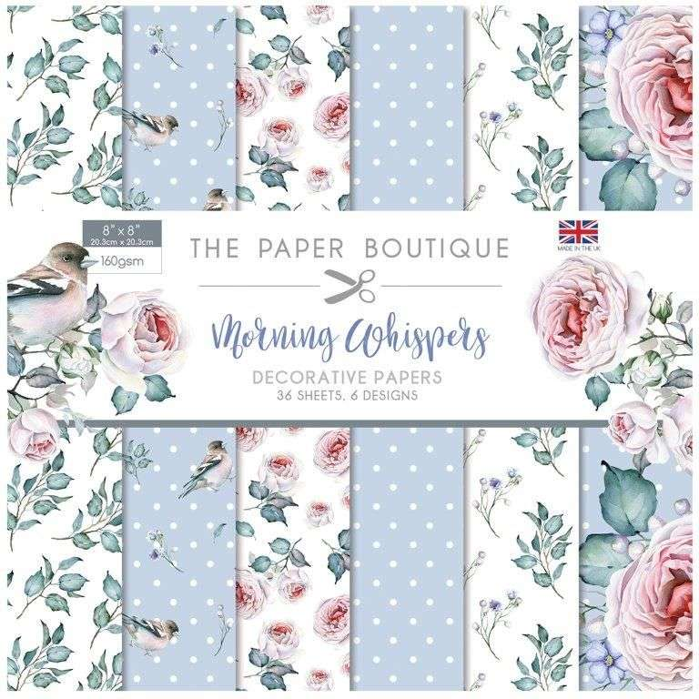 The Paper Boutique Paperpad Morning Whispers 12 inch