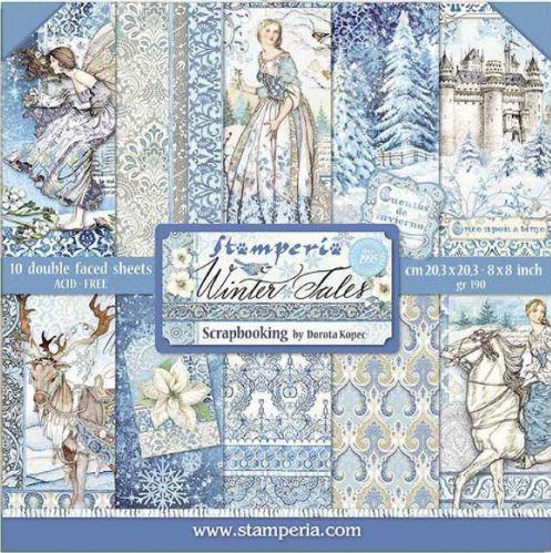 Stamperia Paperpad Winter Tales 12 inch