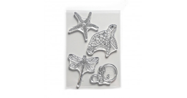 ECD Clear Stamp Water Creatures