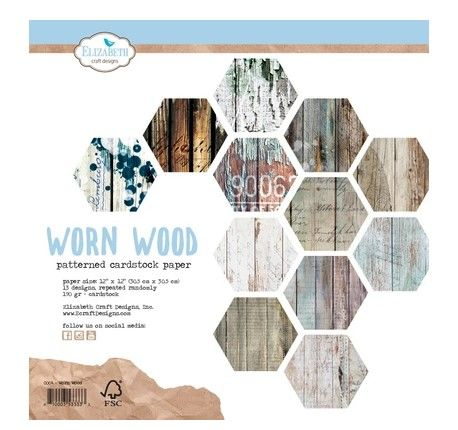 ECD Worn Wood paperpad 12 inch