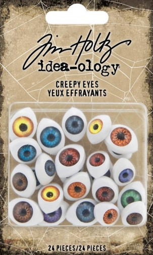 Tim Holtz Idea-Ology Creepy Eyes