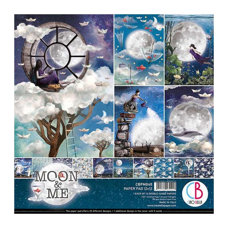 Ciao Bella Moon and Me Paperpack 12 inch