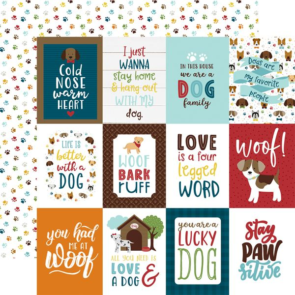 EP My Dog 3x4 Journaling Cards