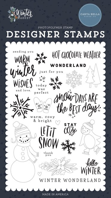 EP Designer Stamps Winter Market