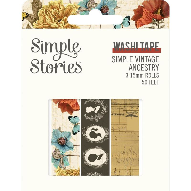 SS Simple Vintage Ancestry Washi Tape