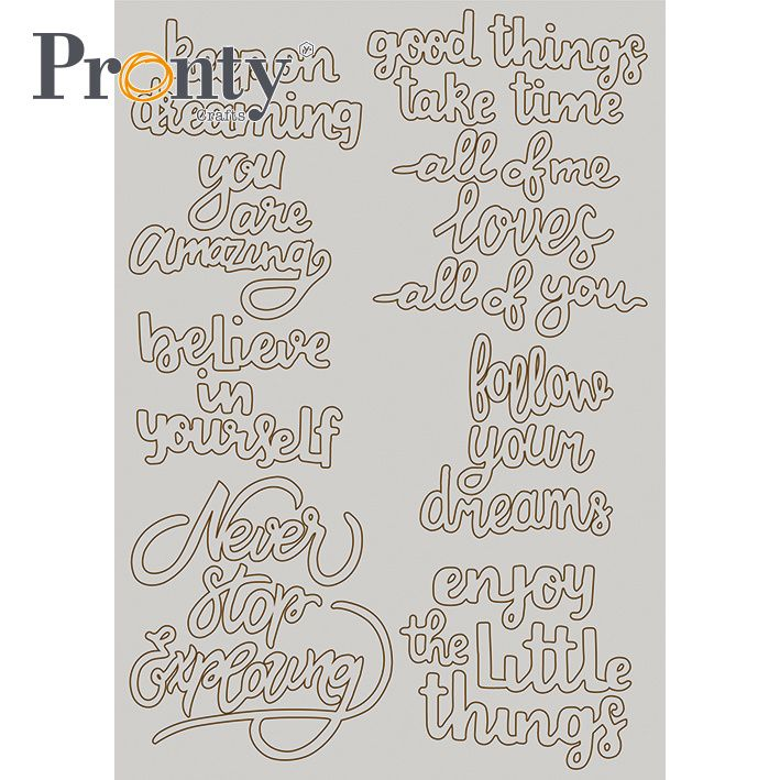 Pronty Chipboard Quotes