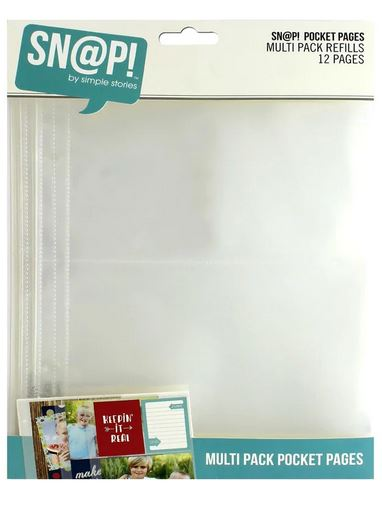SS Sn@p Pocket Pages Multi Pack Refills