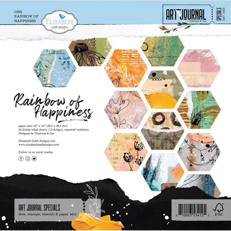 ECD Rainbow of Happiness paperpad 12 inch