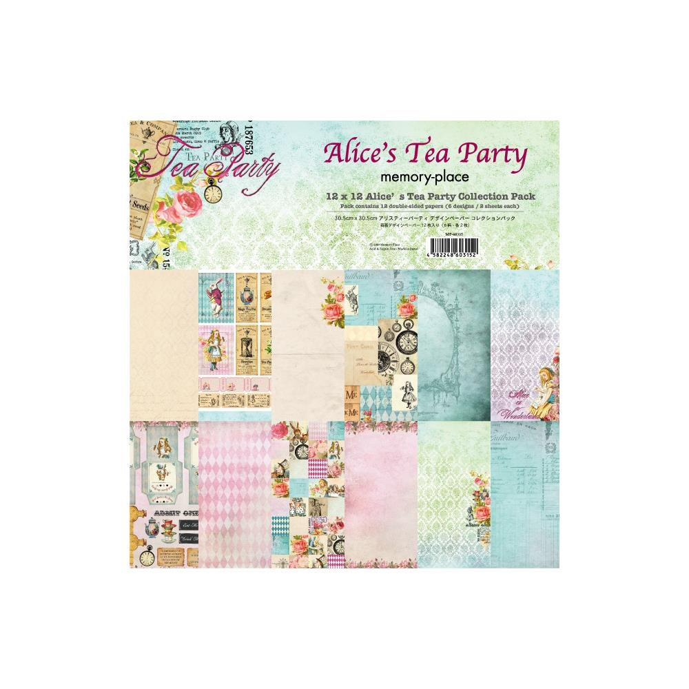 Memory Place Paperpad Alice Tea party 12 inch