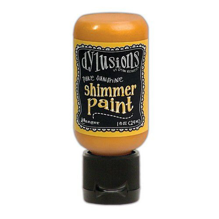 Dylusions Shimmer Paint Pure Sunshine
